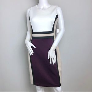 Sleeveless Sheath Dress Calvin Klein Size 6 Dress